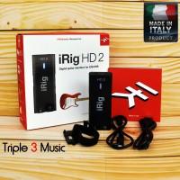 iRig HD 2 irig HD2 IK Multimedia iOS/USB Guitar Audio Interface