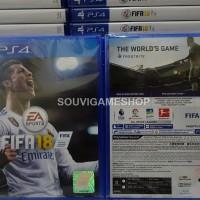 PALING MURAH !! PS4 FIFA 2018 / FIFA 18 REGION 3 ASIA ENGLISH
