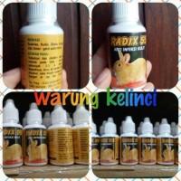 Radix 55 obat kelinci scabies,kudis,eksim,koreng & gatal gatal