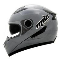 Helm MDS Provent Gunmet Solid Full Face Visor Gunmetal Grey