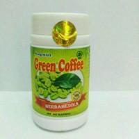 Kapsul GREEN COFFEE Kopi Hijau HERBA MEDIKA Pelangsing Alami 60 Kapsul