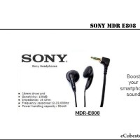 Headset Sony MDR E808