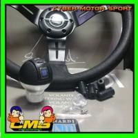 paket 2 in 1 paket Stir dan gear knob Racing Nardi torino 14 inch