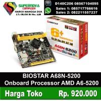 BIOSTAR A68 5200 ONBOARD Processor AMD A6-5200