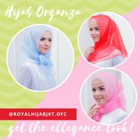 Hijab Organza Dot | Jilbab | Pashmina