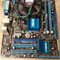 Murah Motherboard G41 DDR3 Asus / Gigabyte + Core 2 Duo E8500 + Fan +