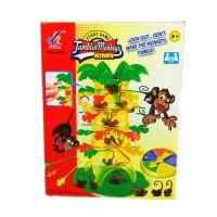 MAINAN ANAK Funny Family Game - Tumbling Monkeys Activate Falling