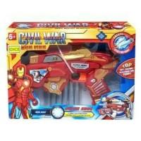 Jual MAINAN ANAK Mainan Anak Pistol Soft Blaster Nerf Ironman Avengers Murah