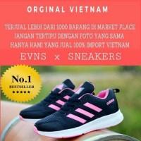 sepatu casual wanita nike air max 90 love black pink
