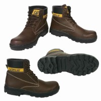 60,000 rb !!!! sepatu pria TERMURAH   Sepatu Safety Boots Caterpillar