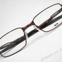 Eyeglass Frames-Oakley COILOVER OX5043-0251 Polished Brown Glasses Occ