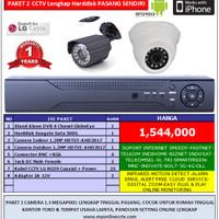 Paket 2 Kamera CCTV Rekam HD 1.3Megapixel Camera Outdoor Indoor Online