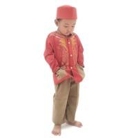 Original langsung dari pabrik      KOKO ANAK setelan Baju Muslim