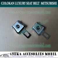 Colokan Safety Belt Safetybelt Seat belt Logo Mitsubishi Xpander