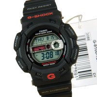 JAM TANGAN PRIA CASIO G-SHOCK GULFMAN G-9100-1 ORIGINAL GARANSI RESMI