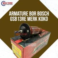 Armature / Angker Mesin Bor Bosch GSB13RE Merk Koko