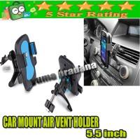 Car Mount Air Vent Holder / Tempat Dudukan Jepit HP Di Dashboard Mobil