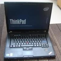 PROMO LAPTOP LENOVO ThinkPad T500 LAYAR 15 inch Core2Duo MULUS BANGET