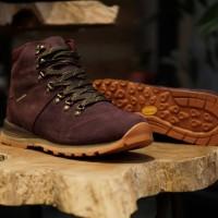 Sepatu Eiger Xavante Mid-Cut Shoes - Purple Wine