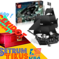 LEPIN BLACK PEARL 90% Lego 4184 . pirates of the caribbean voucher