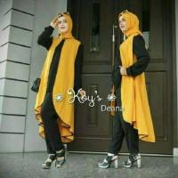 Harga set deina yellow setelan baju muslim | antitipu.com