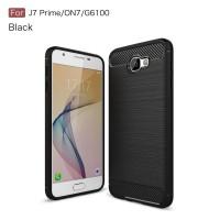 Samsung Galaxy J7 Prime On7 Carbon Fiber Soft Case Silicone Back Case