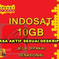kartu perdana indosat 10gb 90 hr kuota data internet im 3 3gb + 3 gb +