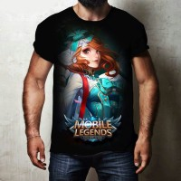 t shirt kaos pria permainan perang mobile legends distro murah terbaru