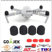 4PCS Motor Protective Shell Case Cover Silica Gel For DJI MAVIC PRO