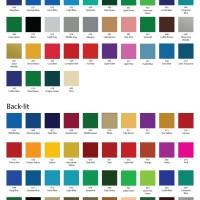 Catalog Warna (Pantone) Oracal 8500 Translucent Cal