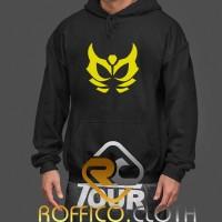 Jaket Hoodie Kamen Rider Rey Symbol - Roffico Cloth