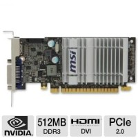 VGa MSI nvidia Gforce Gt210 shre 1gb  ddr2 64bit bagus 2nd