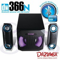 Jual Speaker Aktif Bluetooth Dazumba DW366N with 7 LAMPU LED Murah