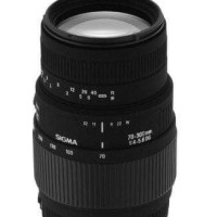 Lensa Sigma 70-300mm F4-5.6 DG for Canon DSLR / Nikon DSLR