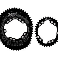 Chainring Oval DOVAL 2G Pro High Ovality 52-36T BCD110