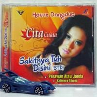 CD Cita Citata - Sakitnya Tuh Disini House Dangdut