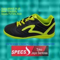 Sepatu Futsal Anak Specs BRAVE IN JR Black