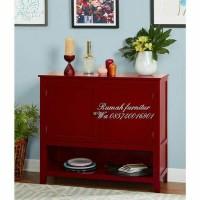 lemari pendek red pintu 2 plong (nakas,rak,meja,kursi&sofa,lemari)