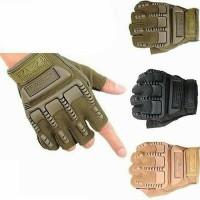 Jual Sarung tangan Gloves half Finger motor cycling hiking outdoor sepeda Murah