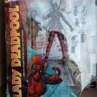 Jual marvel select lady deadpool Murah