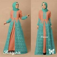 Jual maxi gamis baju pesta hijab muslim longdress dress kebaya mewah elegan Murah