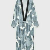 zara kimono flamingo / cardigan - tosca