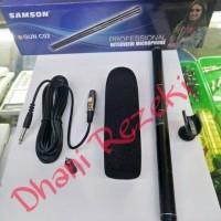 MURAH Microphone Buat Kamera DSLR Mik Mic SAMSON GUN C02