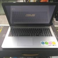 Laptop ASUS X555B series AMD A9 windows 10 ORIGINAL RESMI