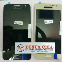 LCD 1SET SAMSUNG GALAXY A3 A300F A300 ORI READY BLACK WHITE GOLD