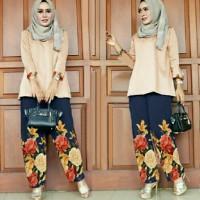 model baju muslim gamis terbaru dan modern ST UWAIS COKSU