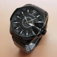 Jam Tangan Pria / Cowok Original Fortuner FR4600 Rantai Full Black