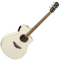 Yamaha APX500II Vintage White Acoustic Electric Guitar
