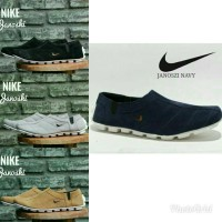 Sepatu Nike Slip On Pria Model Kickers Adidas Slop Pantofel Santai