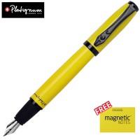 Platignum Studio Fountain Pen Kuning - Gratis Magnetic Notes Size S
